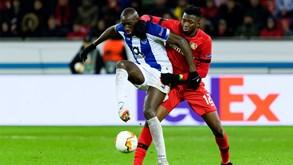 FC Porto-Bayer Leverkusen: dragão procura dar a volta ao texto