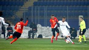 Benfica-Shakhtar Donetsk: águia obrigada a ganhar
