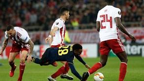 Arsenal-Olympiacos: missão complicada para Pedro Martins
