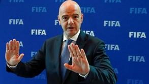 Presidente da FIFA apresenta o projeto para um