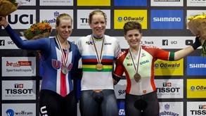 Mundiais de pista: Maria Martins conquista medalha de bronze