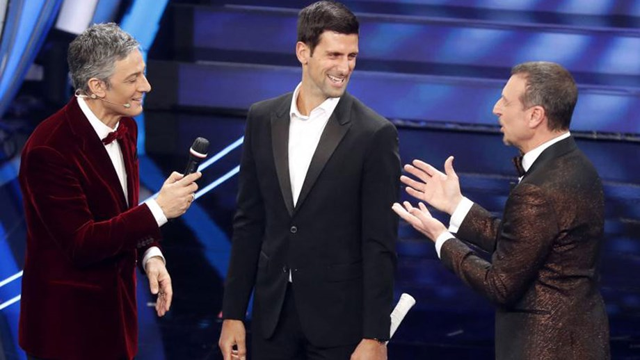 Djokovic revela grupo de WhatsApp improvável