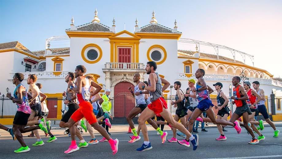 Maratona de Sevilha: Marcas canhão numa manhã de sabor agridoce