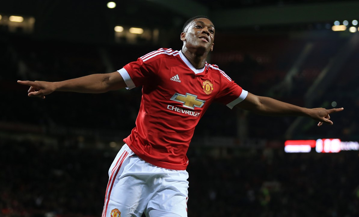Anthony Martial - setembro 2015 (Manchester United)