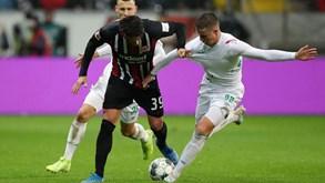 Eintracht Frankfurt-Werder Bremen: por um lugar nas 'meias' da Taça