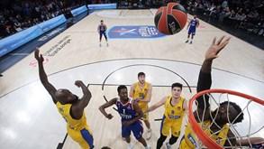 Maccabi Tel-Aviv-Anadolu Efes: líder com deslocação complicada