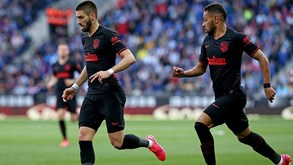 Atl. Madrid-Sevilha: Herrera é baixa colchonera na receção a Lopetegui