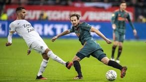 Heerenveen-Ajax: visitantes perderam os últimos dois jogos