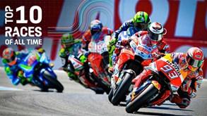 MotoGP oferece os dez melhores Grandes Prémios da história