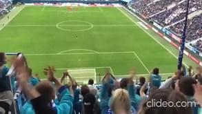 Na Rússia ainda se joga e a claque do Zenit teve este cântico surreal: «Vamos todos morrer»