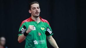 Marcos Freitas nas 'meias' do torneio de Omã