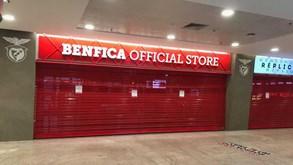 Benfica encerra lojas oficiais por tempo indeterminado