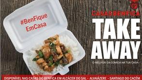 Casas do Benfica reforçam serviços de take away
