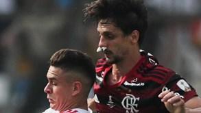 Rodrigo Caio e a reprimenda de Jorge Jesus: «Deu-nos uma 'bronca' muito grande»