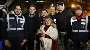 Coronavírus: Plantel do Benfica unido pelos sem-abrigo