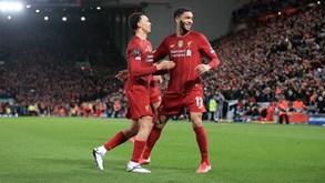'Guerra' de marcas acaba: Nike permite ao Liverpool festejar o título com a New Balance