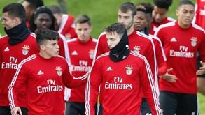Plantel do Benfica unido no combate à pandemia