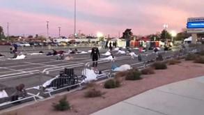 Imagens que incomodam: a 'solução' de Las Vegas para os sem-abrigo