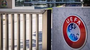 UEFA adia jogos de seleções para terminar campeonatos e provas europeias