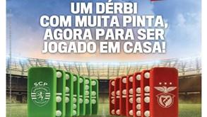 Dominós de Benfica e Sporting grátis a partir de terça-feira