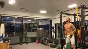 Treinar no ginásio à noite? Para Sergio Ramos