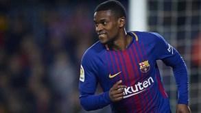 Nélson Semedo com proposta para renovar três épocas com o Barcelona