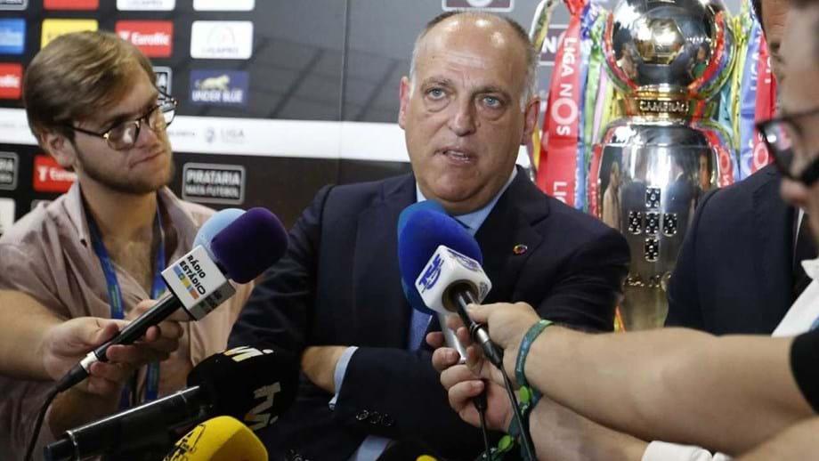 Javier Tebas, presidente da LaLiga