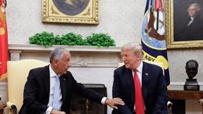 Donald Trump telefona a Marcelo e elogia desempenho português no combate ao coronavírus