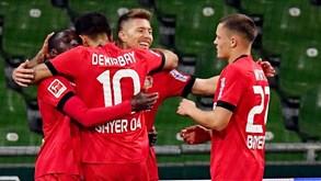 Bor. M'gladbach-Bayer Leverkusen: duelo escaldante em perspetiva na Bundesliga