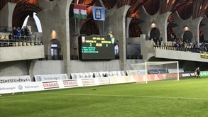 Mezokövesd-Vidi: encontro a contar para a 1.ª mão da meia-final da Taça da Bulgária