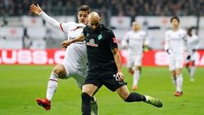 Eint. Frankfurt-Friburgo: equipa de André Silva procura inverter tendência