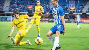 Esbjerg FB-Aalborg BK: bola volta a rolar na Dinamarca