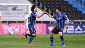 Incheon United-Gangwon FC: equipas em fases distintas no arranque da liga sul-coreana