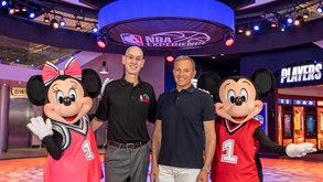 NBA caminha para o regresso na terra do Mickey Mouse