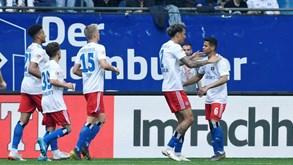 Hamburgo-Holstein Kiel: visitantes são a segunda equipas com menos derrotas da prova