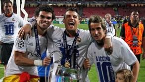 Cristiano Ronaldo revê a Luz