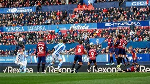 Real Sociedad-Osasuna: duelo de vizinhos em San Sebastian