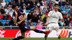 Real Madrid-Eibar: merengues voltam à ação numa nova casa