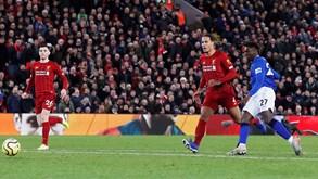 Everton-Liverpool: dia de dérbi na Premier League