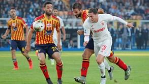 Juventus-Lecce: equipa de Ronaldo procura reforçar liderança