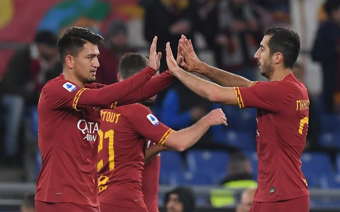 13. AS Roma - 665 transferências - 1.23mM€