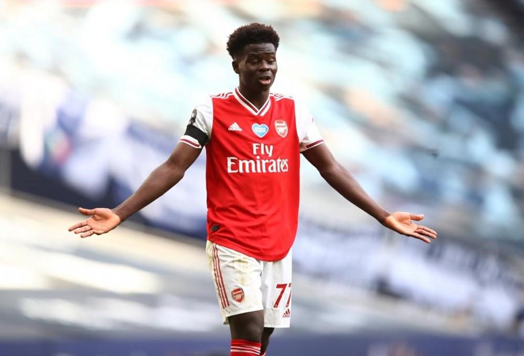 Bukayo Saka (Arsenal), médio