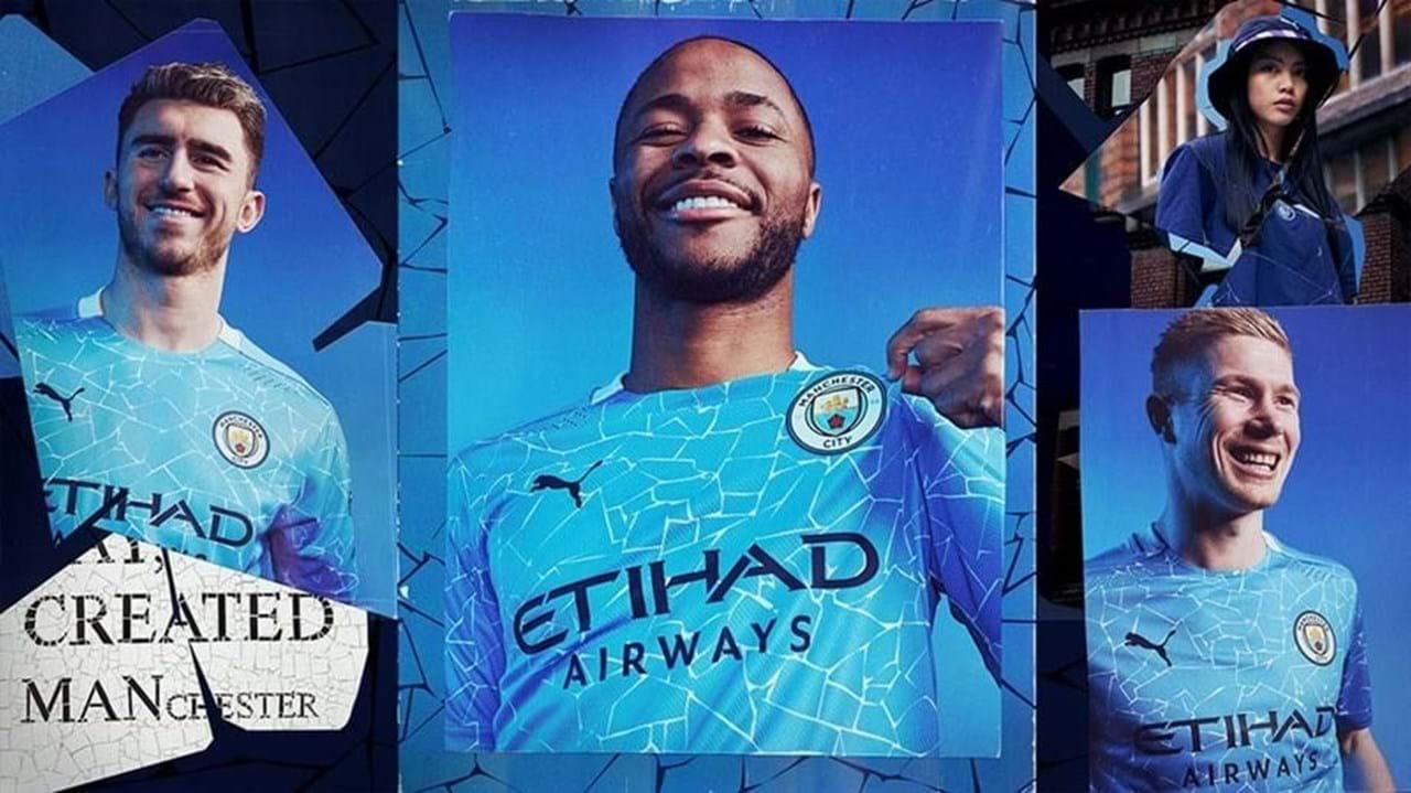 Equipamento principal do Manchester City para 2020/21
