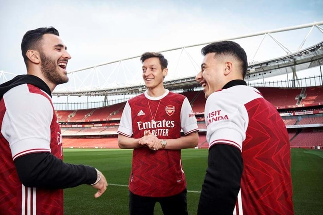 Equipamento principal do Arsenal para 2020/21