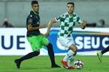 Battaglia está vinculado ao Sporting por mais três temporadas, mas é provável que a ligação termine no presente defeso. O médio quer sair para jogar
