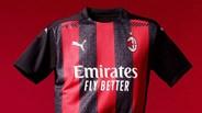 Equipamento principal do AC Milan para 2020/21