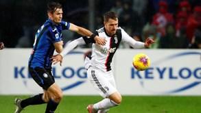 Juventus-Atalanta: Vecchia Signora com duelo difícil pela frente