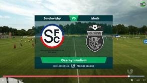Liga da Bielorrússia em direto: siga a transmissão do Smolevichi-Isloch Minsk