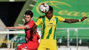 Gil Vicente-Tondela: forasteiros somam cinco jogos consecutivos sem vencer