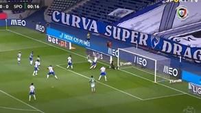 Sporar Marcou Aos 18 Segundos Do Fc Porto Sporting Mas O Golo Foi Anulado Videos Jornal Record